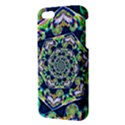 Power Spiral Polygon Blue Green White iPhone 5S/ SE Premium Hardshell Case View3