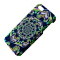Power Spiral Polygon Blue Green White iPhone 5S/ SE Premium Hardshell Case View4