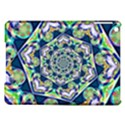 Power Spiral Polygon Blue Green White iPad Air Hardshell Cases View1
