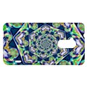 Power Spiral Polygon Blue Green White HTC One Max (T6) Hardshell Case View1