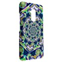 Power Spiral Polygon Blue Green White HTC One Max (T6) Hardshell Case View2