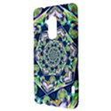 Power Spiral Polygon Blue Green White HTC One Max (T6) Hardshell Case View3