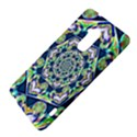 Power Spiral Polygon Blue Green White HTC One Max (T6) Hardshell Case View4