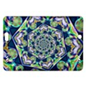 Power Spiral Polygon Blue Green White Amazon Kindle Fire HD (2013) Hardshell Case View1