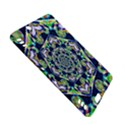 Power Spiral Polygon Blue Green White Kindle Fire HDX Hardshell Case View5
