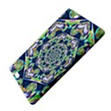 Power Spiral Polygon Blue Green White Kindle Fire HDX 8.9  Hardshell Case View4