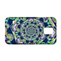 Power Spiral Polygon Blue Green White Samsung Galaxy S5 Hardshell Case  View1