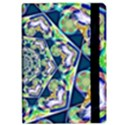 Power Spiral Polygon Blue Green White iPad Air Flip View2