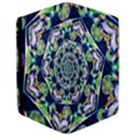 Power Spiral Polygon Blue Green White iPad Air Flip View3