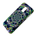 Power Spiral Polygon Blue Green White Galaxy S5 Mini View4