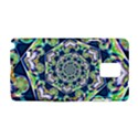 Power Spiral Polygon Blue Green White Samsung Galaxy Note 4 Hardshell Case View1
