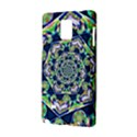 Power Spiral Polygon Blue Green White Samsung Galaxy Note 4 Hardshell Case View2