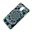 Power Spiral Polygon Blue Green White Samsung Galaxy Note 4 Hardshell Case View4