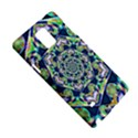 Power Spiral Polygon Blue Green White Samsung Galaxy Note 4 Hardshell Case View5