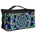 Power Spiral Polygon Blue Green White Cosmetic Storage Case View2