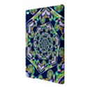 Power Spiral Polygon Blue Green White iPad Air 2 Hardshell Cases View3