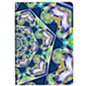 Power Spiral Polygon Blue Green White iPad Air 2 Flip View1