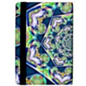 Power Spiral Polygon Blue Green White iPad Air 2 Flip View4