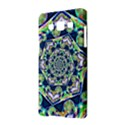 Power Spiral Polygon Blue Green White Samsung Galaxy A5 Hardshell Case  View2