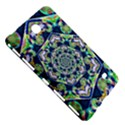 Power Spiral Polygon Blue Green White Samsung Galaxy Tab 4 (7 ) Hardshell Case  View5