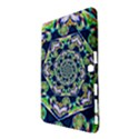 Power Spiral Polygon Blue Green White Samsung Galaxy Tab 4 (10.1 ) Hardshell Case  View2