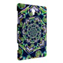 Power Spiral Polygon Blue Green White Samsung Galaxy Tab S (8.4 ) Hardshell Case  View3