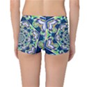 Power Spiral Polygon Blue Green White Boyleg Bikini Bottoms View2