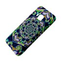 Power Spiral Polygon Blue Green White HTC One M9 Hardshell Case View4