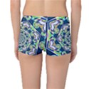 Power Spiral Polygon Blue Green White Reversible Boyleg Bikini Bottoms View4