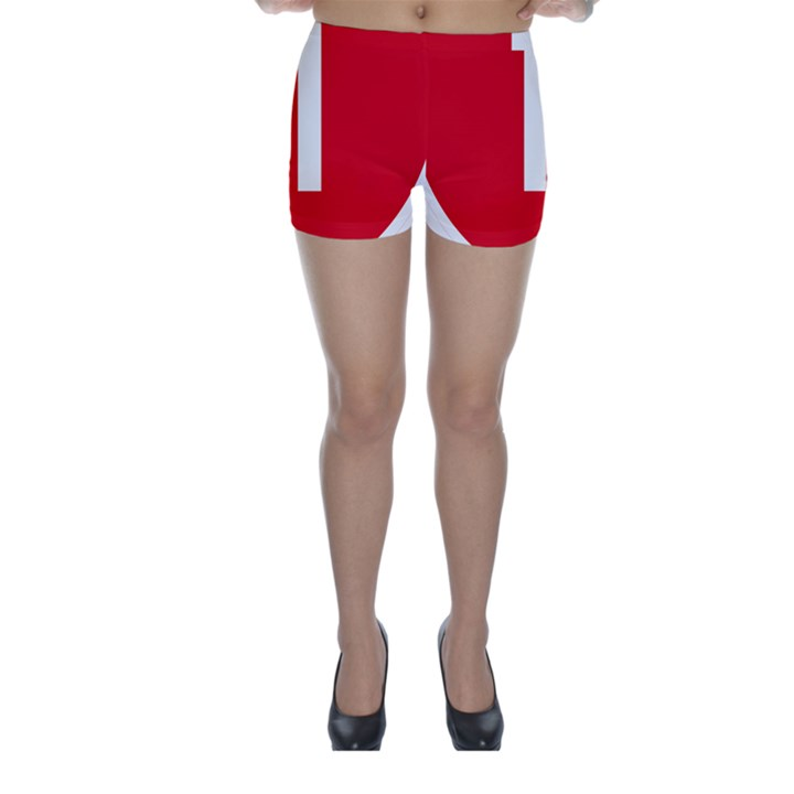 New Zealand State Highway 1 Skinny Shorts
