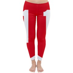 New Zealand State Highway 1 Winter Leggings