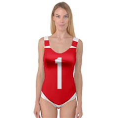 New Zealand State Highway 1 Princess Tank Leotard