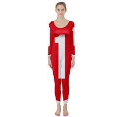 New Zealand State Highway 1 Long Sleeve Catsuit