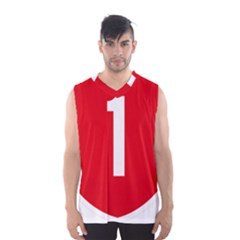 New Zealand State Highway 1 Men s Basketball Tank Top