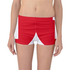 New Zealand State Highway 1 Reversible Boyleg Bikini Bottoms