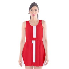New Zealand State Highway 1 Scoop Neck Skater Dress