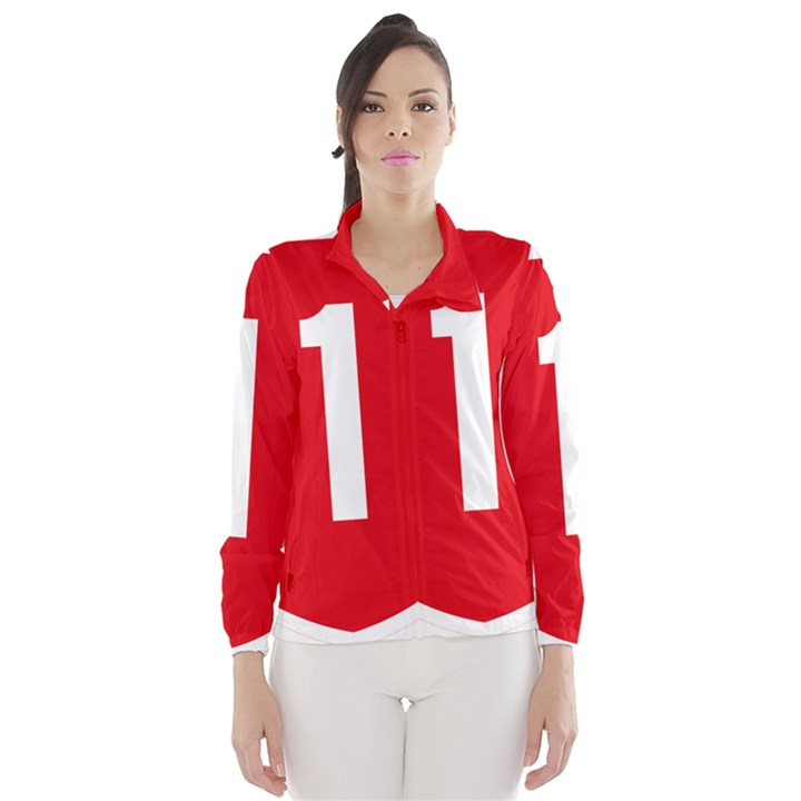 New Zealand State Highway 1 Wind Breaker (Women)