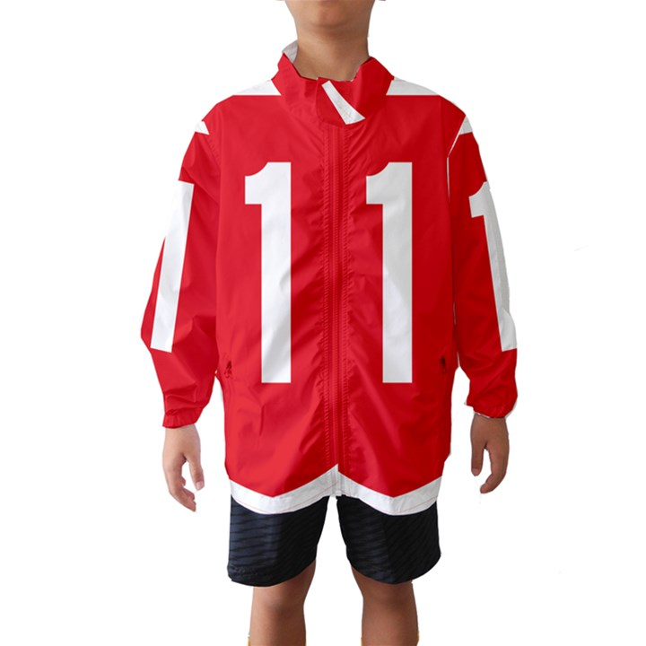 New Zealand State Highway 1 Wind Breaker (Kids)