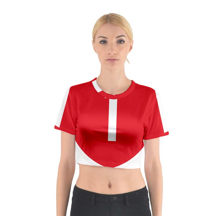 New Zealand State Highway 1 Cotton Crop Top