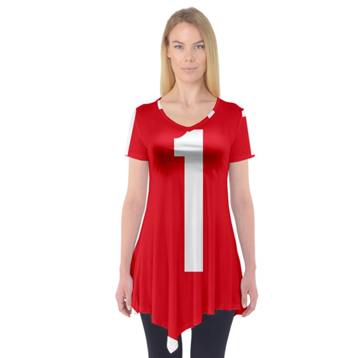 New Zealand State Highway 1 Short Sleeve Tunic