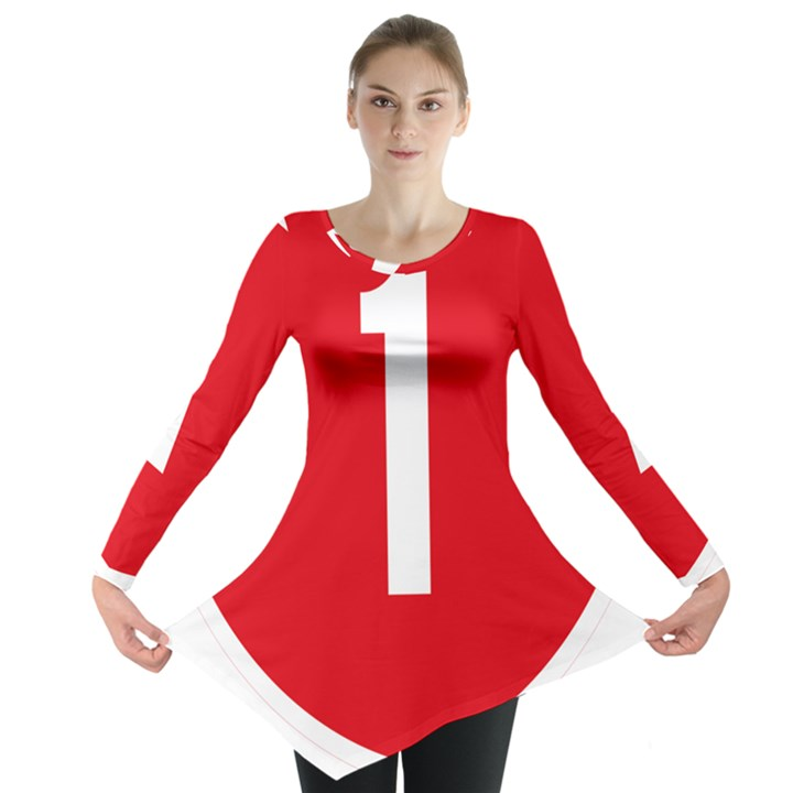 New Zealand State Highway 1 Long Sleeve Tunic