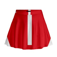 New Zealand State Highway 1 Mini Flare Skirt