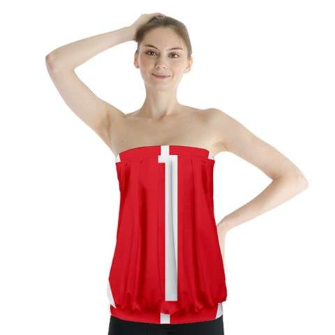 New Zealand State Highway 1 Strapless Top