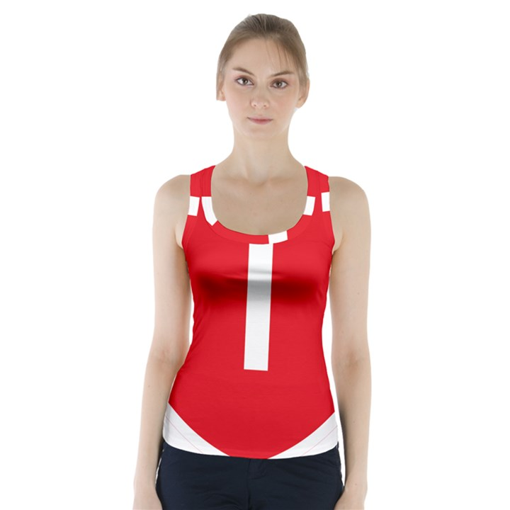 New Zealand State Highway 1 Racer Back Sports Top