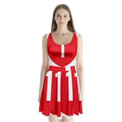 New Zealand State Highway 1 Split Back Mini Dress