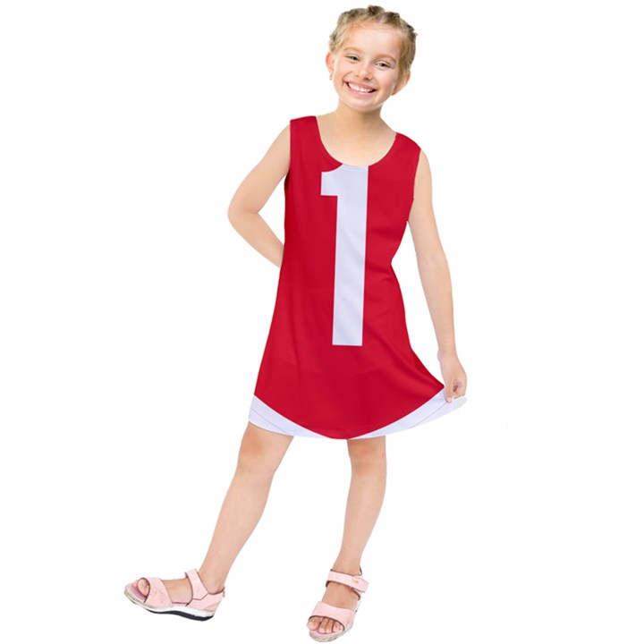 New Zealand State Highway 1 Kids  Tunic Dress