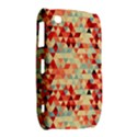 Modern Hipster Triangle Pattern Red Blue Beige Curve 8520 9300 View2