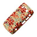 Modern Hipster Triangle Pattern Red Blue Beige Bold 9700 View4