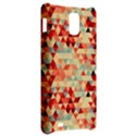 Modern Hipster Triangle Pattern Red Blue Beige Samsung Infuse 4G Hardshell Case  View2