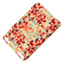 Modern Hipster Triangle Pattern Red Blue Beige Kindle Touch 3G View4